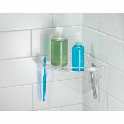 Thea Corner Shelf Interdesign Corner Shower Caddy