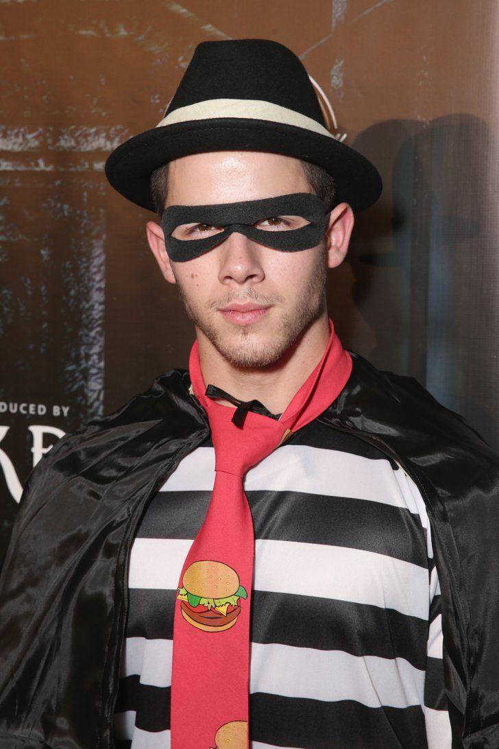 Nick Jonas Somehow Made the Hamburglar a Sexy Halloween Costume ...