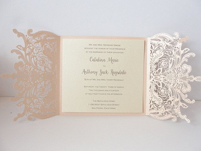 Shop Wedding Invitations: A Personal Favorite From My Etsy Shop