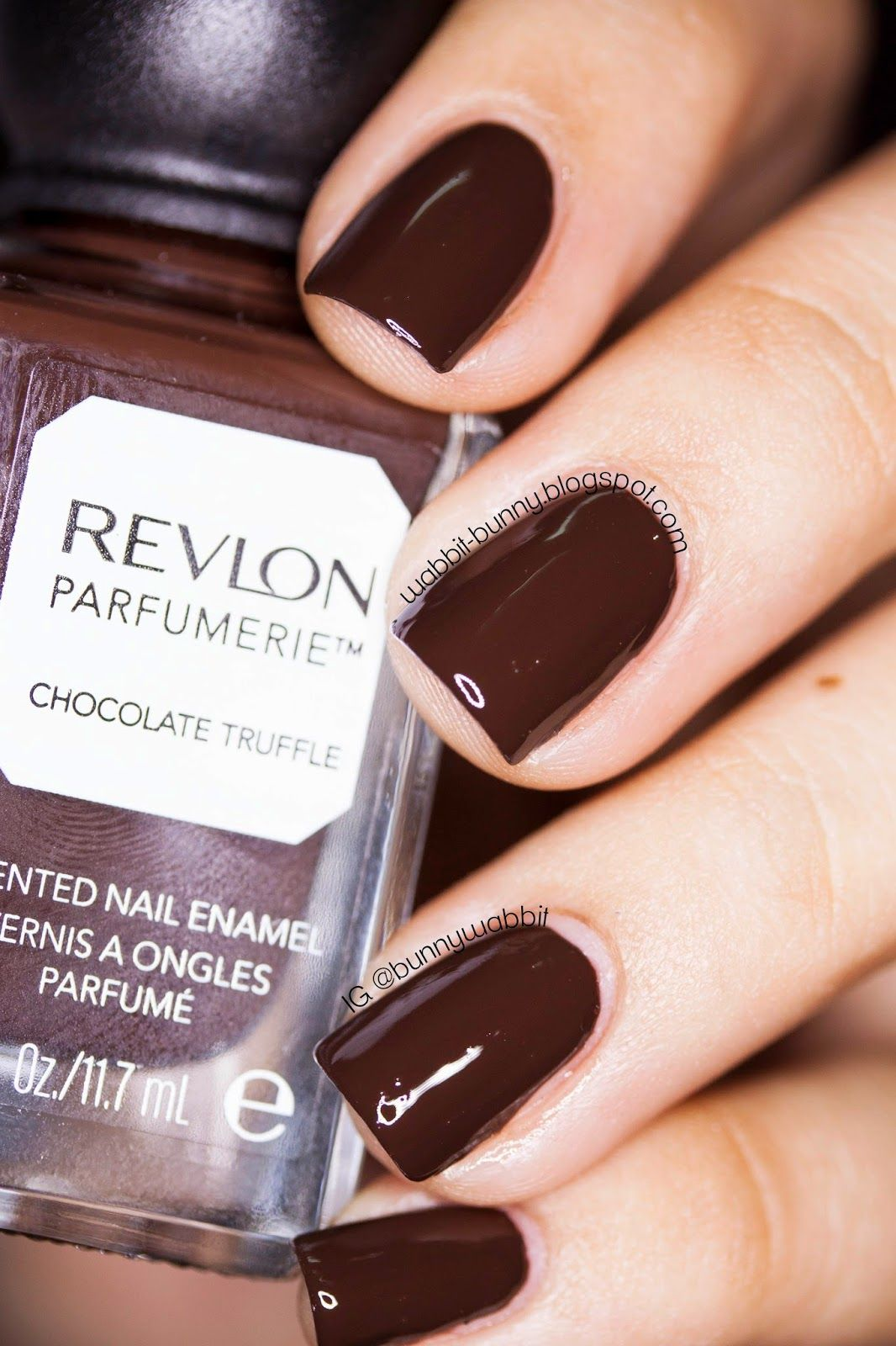 Revlon Chocolate Truffle. This scented polish dries with a like ...