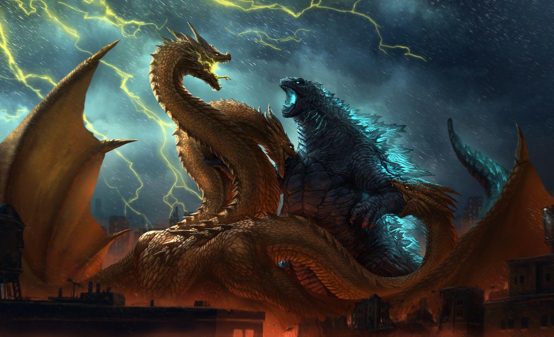Pin By Lorraine Maples On Godzilla Godzilla Wallpaper Godzilla Vs King Ghidorah Godzilla