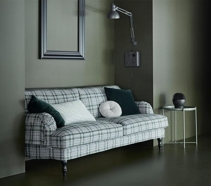 Ikea Catalog Brochures In 2020 Stocksund Sofa Plaid Couch Couches Living Room #plaid #living #room #furniture