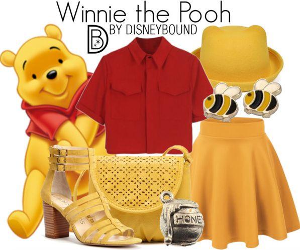 winnie the pooh | Disney Bound