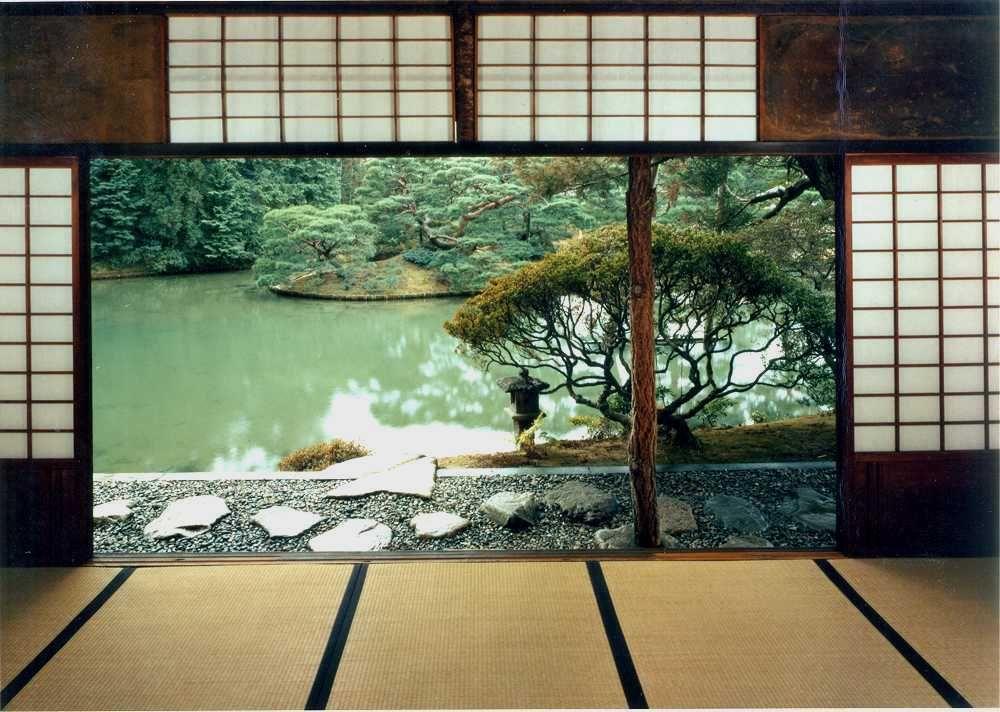 Bagno Giapponese ~ Tachibana no toshitsuna giardini giapponesi: larte di