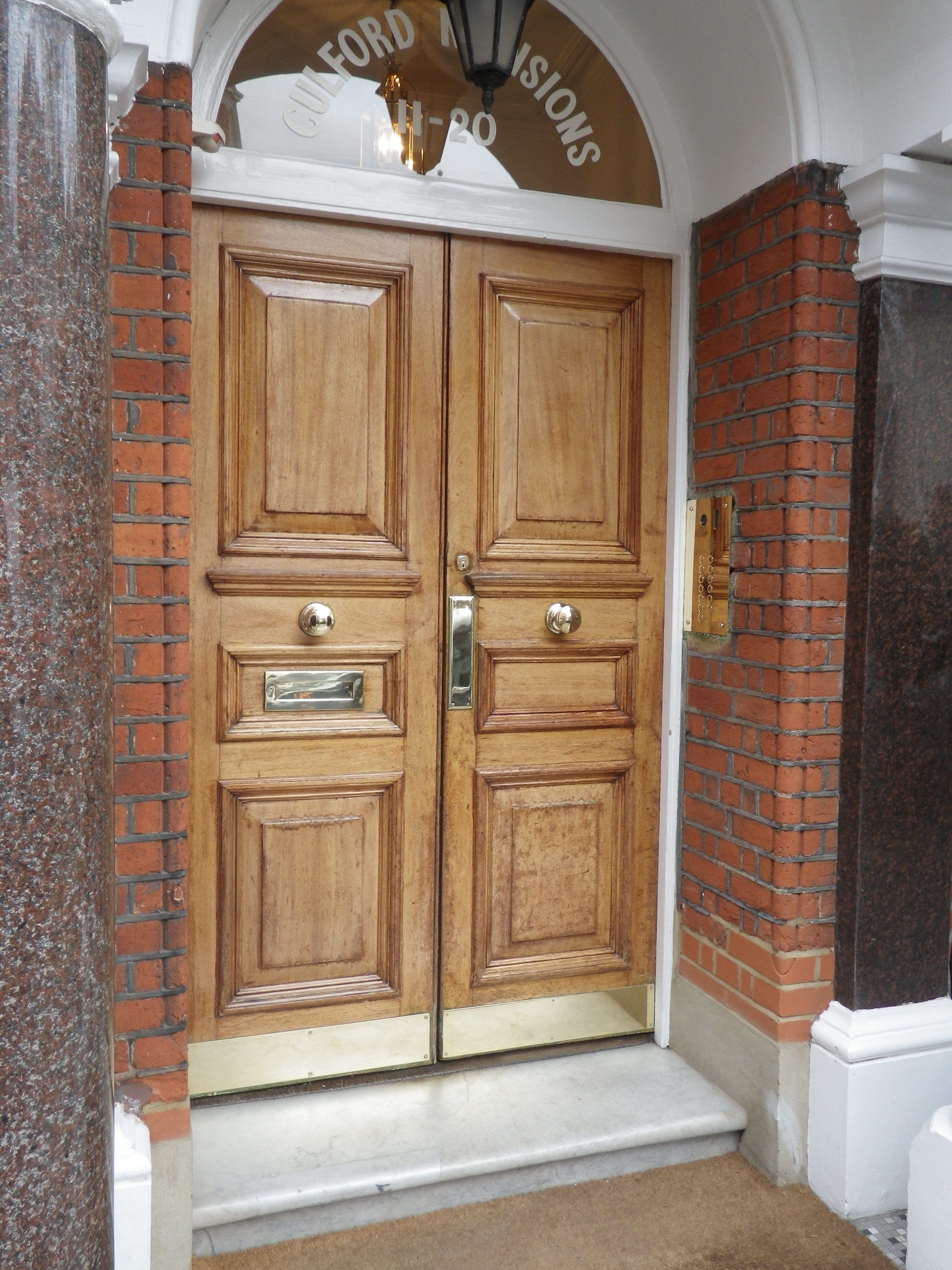Chelsea Double Front Doors Period Front Doors Pinterest Front