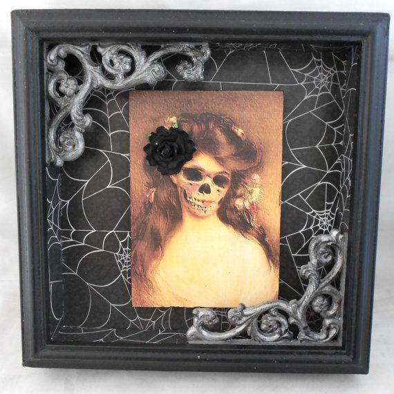 Gothic Wall Art Skeleton Butterfly Dark Art Etsy Gothic Decor Art Gothic Interior