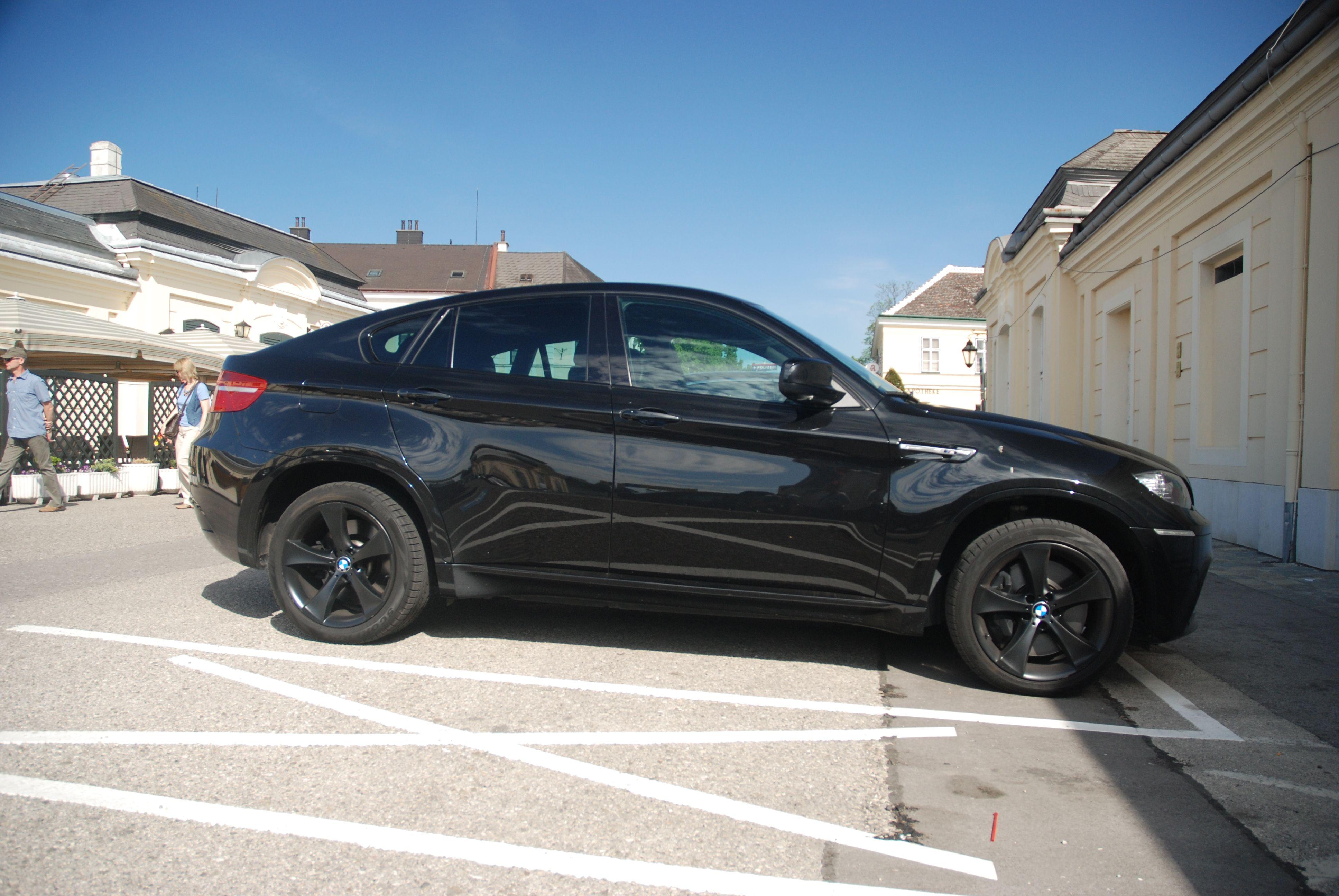 Pitch Black BMW X Dream Cars Wish List Pinterest Bmw X - Black bmw x6