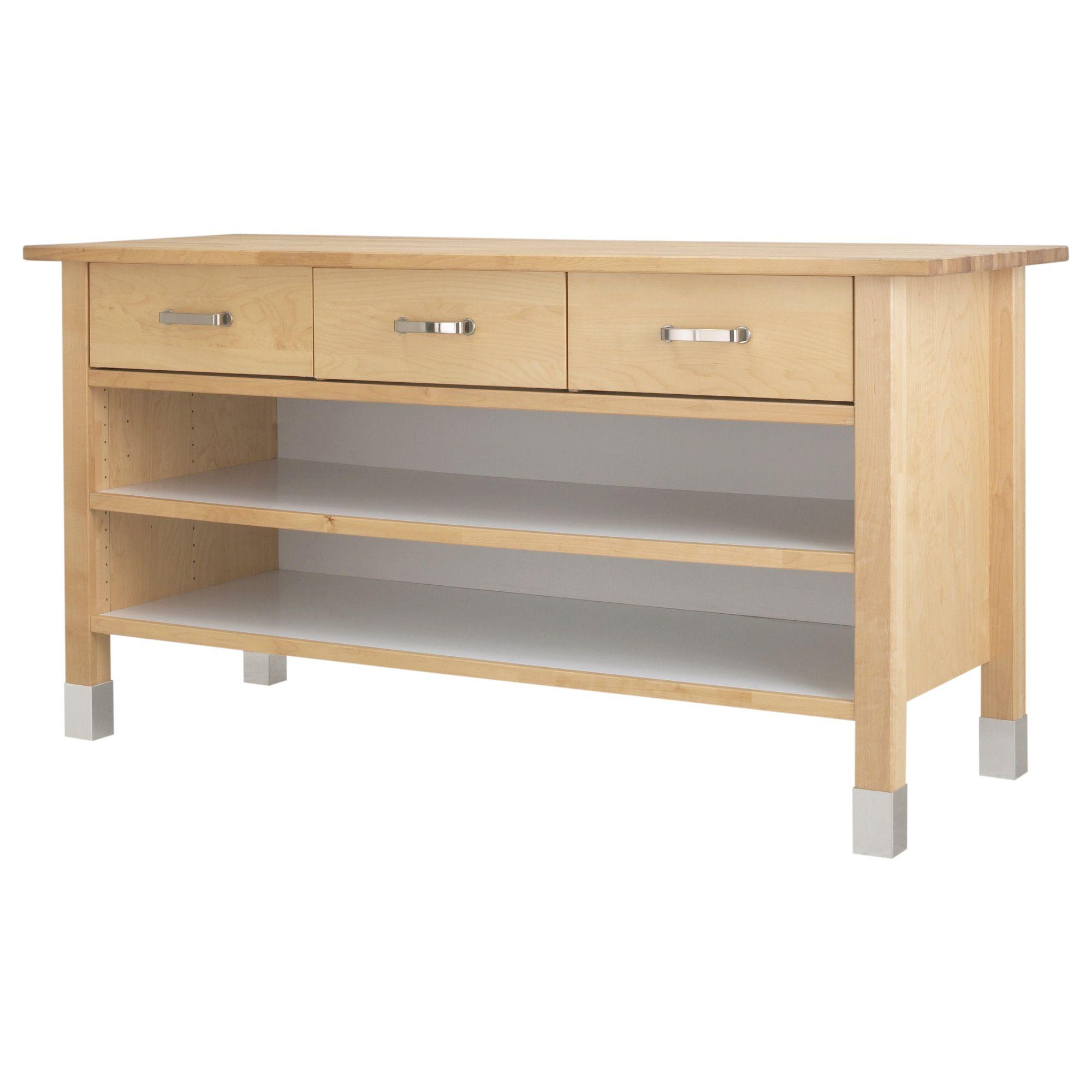 Tavoli Da Lavoro Cucina Ikea.Varde Mobile Base Ikea Idee Ikea Cucina Freestanding E