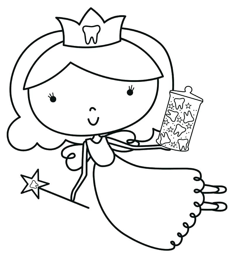 tooth fairy coloring page tooth fairy coloring sheet tooth