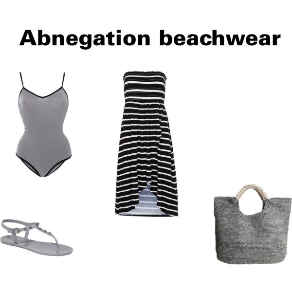 """Abnegation beach fashion"" by alex-reilly on Polyvore"