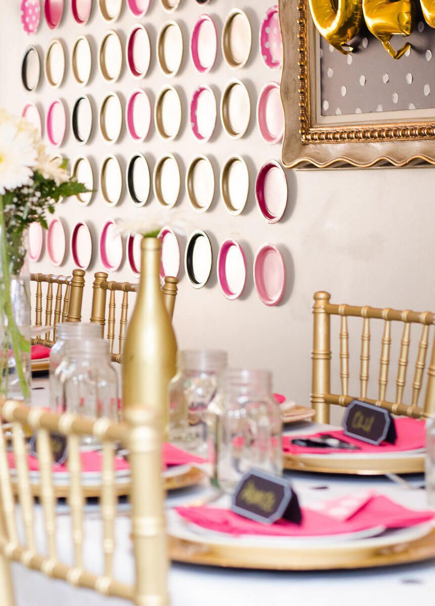 Dotty Thirty Birthday Party Thirty birthday, Pink