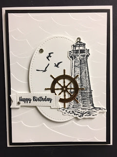 Masculine Birthday using Sailing Home set