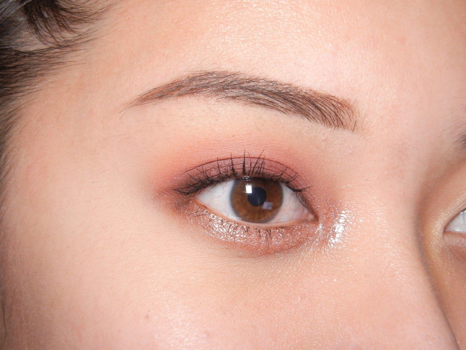 Review Swatches Stila Magnificent Metals Glitter Glow Liquid Eye Shadow In Kitten Karma And Rose Gold Retro Ha Stila Kitten Karma Eyeshadow Makeup Inspo