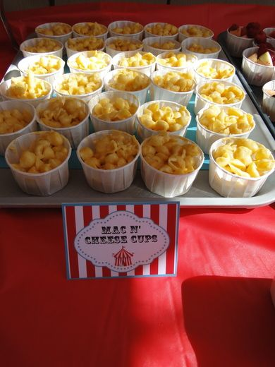 Carnival birthday party ideas carnival birthday carnivals and mac - Carnival party menu ...