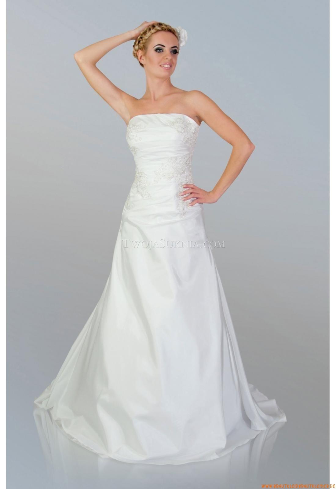 Taft Bodenlang Designer Günstige Brautkleider | summer bridal gowns ...