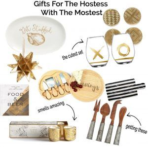 Holiday Gift Guide! The Hostess with the Mostest Hostess Gift ideas on Dress Me Blonde