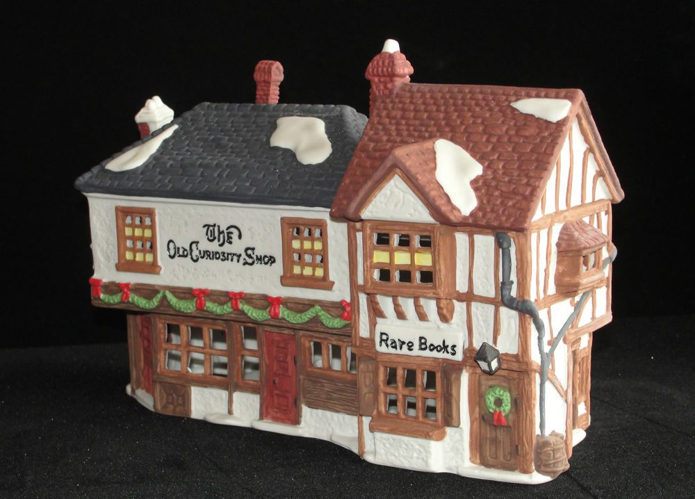 Dept 56 Dickens Village The Old Curiosity Shop from 1987