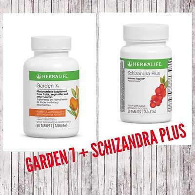 SCHIZANDRA + GARDEN 7 ANTIOXIDANTS AND IMMUNE SUPPORT KIT HERBALIFE