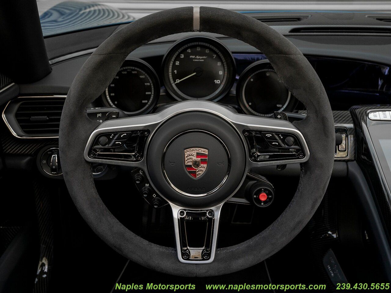 For sale 2015 Porsche 918 Spyder Naples Motorsports