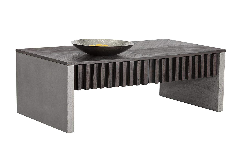 Amazon Com Sunpan Modern Bane Coffee Table Kitchen Dining Coffee Table Table Modern [ 1000 x 1500 Pixel ]