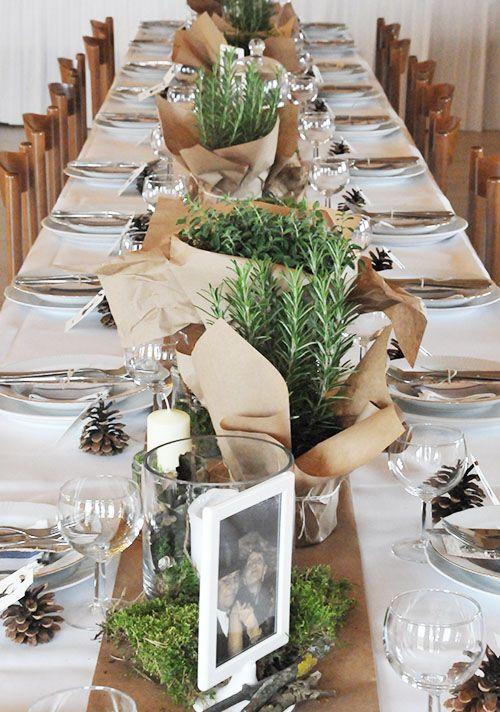 Blog Bloom In May Rustikale Hochzeitstische Krauter Hochzeit Weihnachtstisch