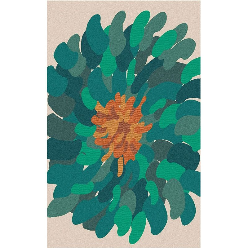 Color Inspiration: Surya Bombay Teal Flower Rug | Pure Home