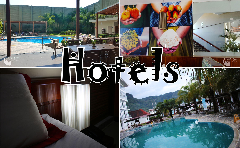 Diseño de algunos hoteles en la selva peruana