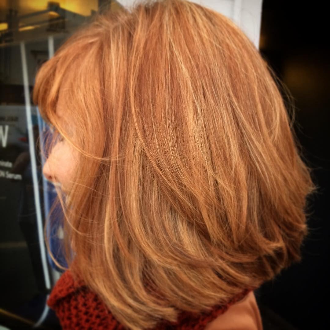 Blunt blonde ombre red hair pinterest strawberry blond hair