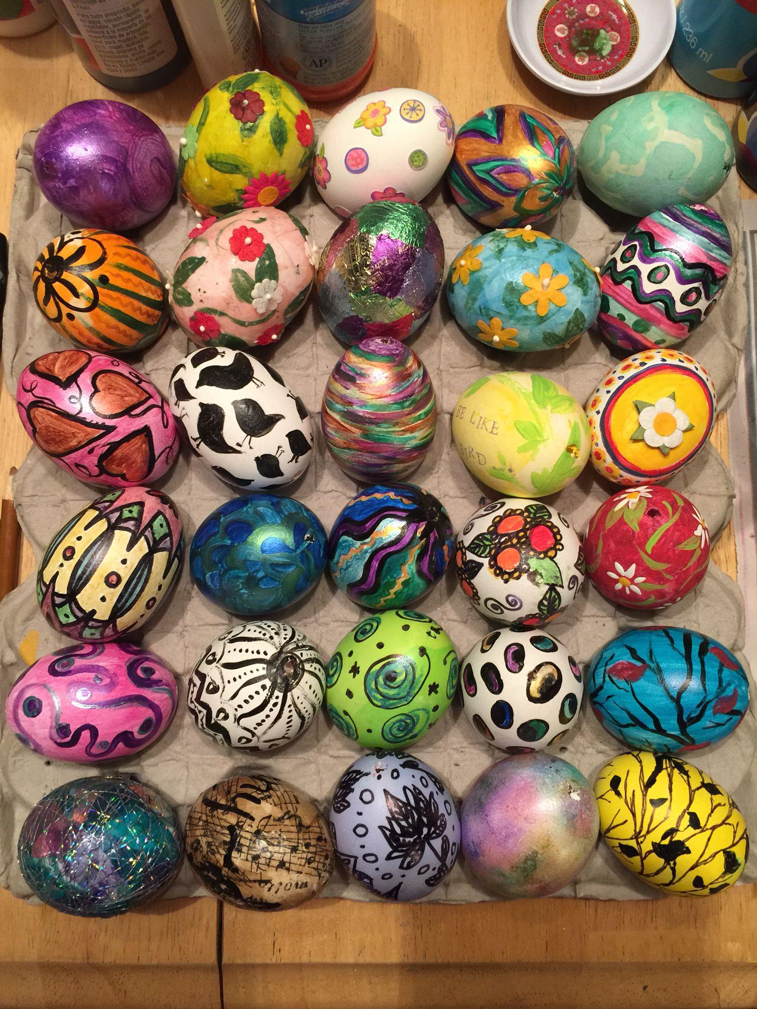 Arty eggs!!