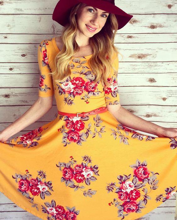 Sweet floral Nicole
