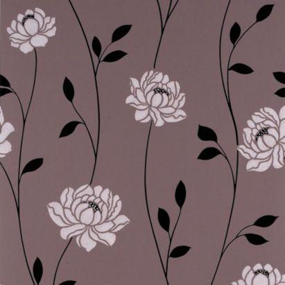 B Q Spare Room Floral Wallpaper Diy Wallpaper Wall Wallpaper