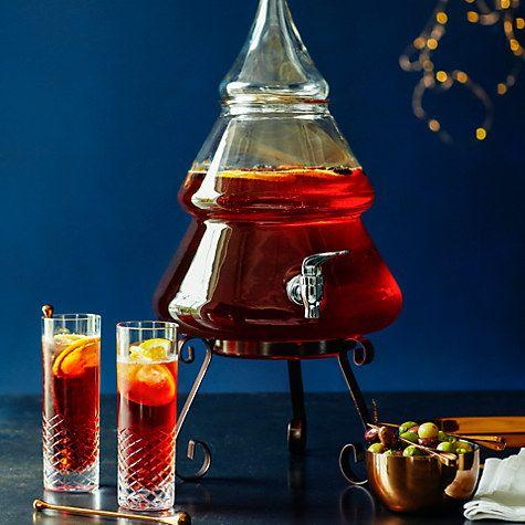 Buy Eddingtons Christmas Tree Drinks Dispenser, 8L Online at johnlewis.com
