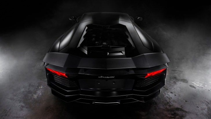 Lamborghini Aventador Matte Black Wallpaper Cars Hd Wallpapers