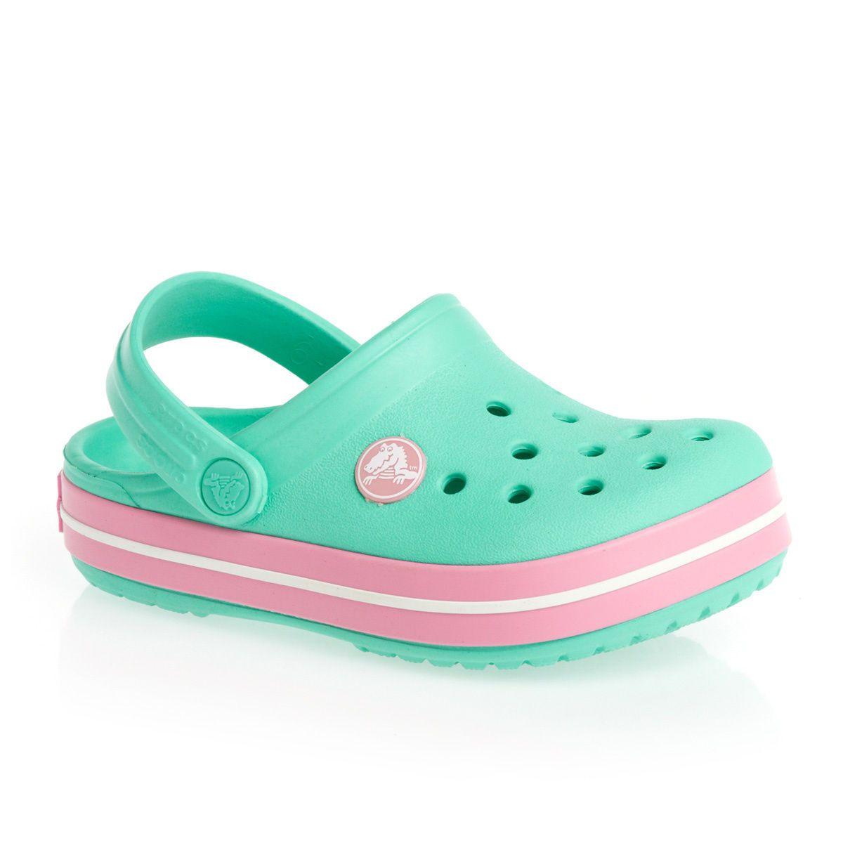 Zapatos verdes vintage Crocs Crocband para mujer Outlet Genuine XAhijqDk