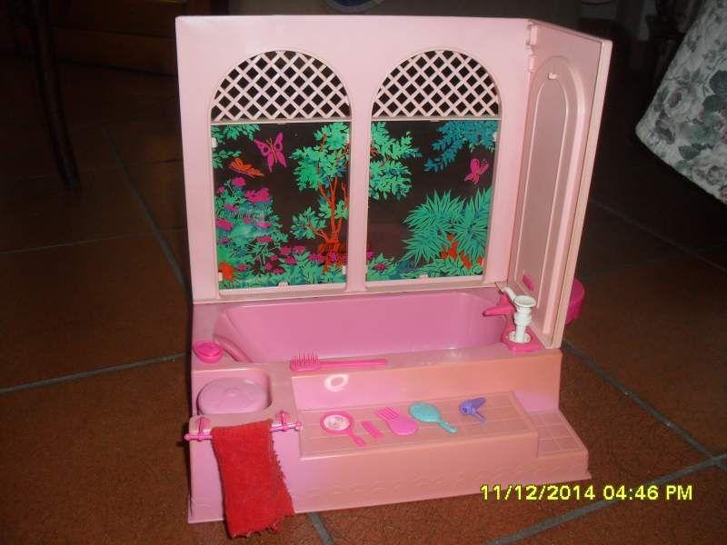 Vasca Da Bagno Barbie Anni 70 : Barbie vasca bagno anni infantia vintage