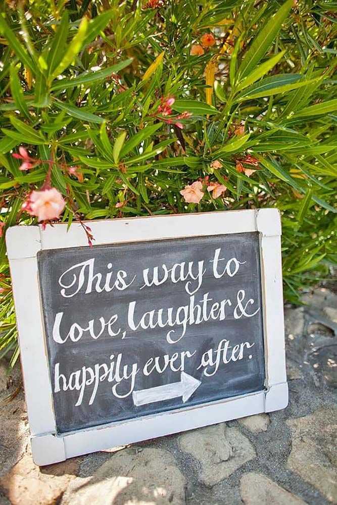 Clever & Funny Wedding Signs For Your Reception (With