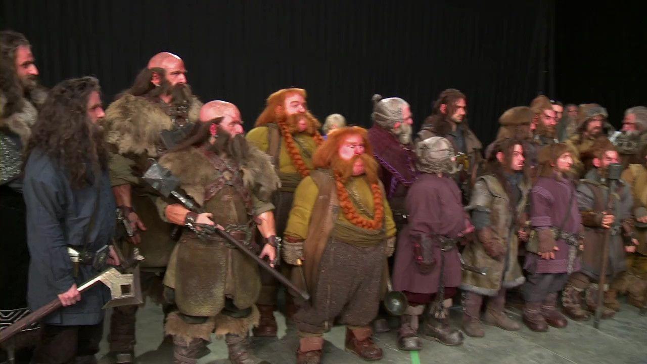 Hobbit Cast With Film Doubles Stunt Doubles The Hobbit It Cast