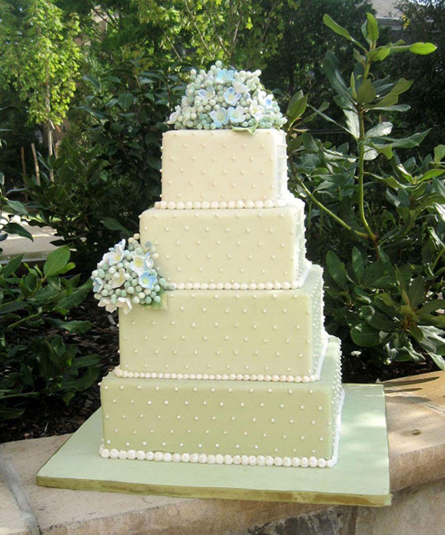 Hydrangea Cake by Amphora