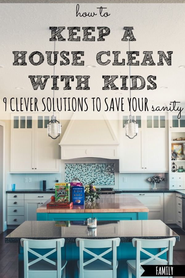 How to Keep a House Clean With Kids images