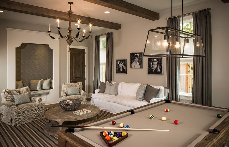 Pool Table Room | Colorado Basement Finishing Experts   Viking Custom  Builders, LLP | Front Room | Pinterest | Pool Table Room, Pool Table And  Basements