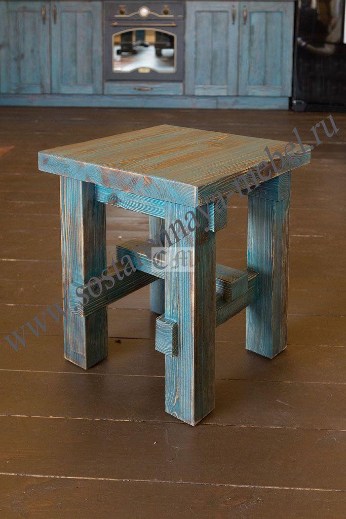 табурет из сосны дерево в 2019 г Wood Furniture Handmade