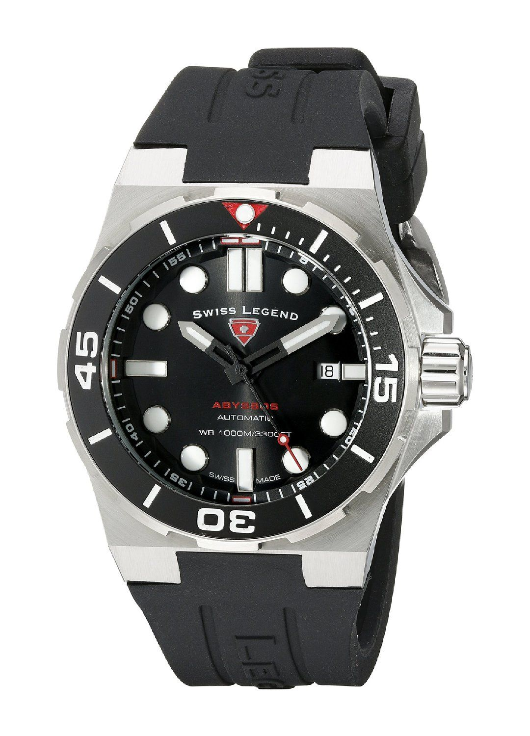 swiss legend men s 10062a 01 sm rdb abyssos analog display swiss swiss legend men s abyssos analog display swiss quartz black watch check this awesome watch by going to the link at the image