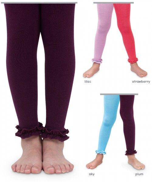 1f28c34c6 Jefferies Socks Pima Cotton Ruffle Footless Tights