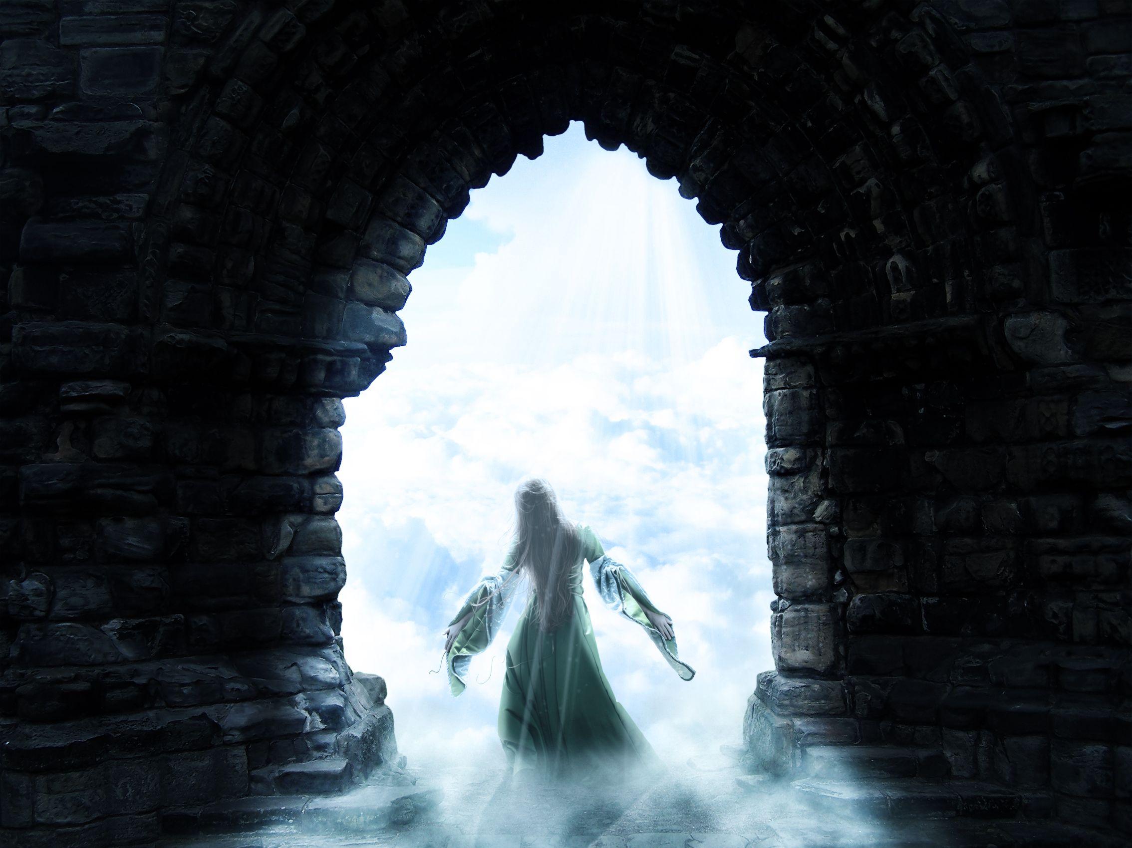 Heaven   SPOTLIGHT: Going through the doorway to heaven