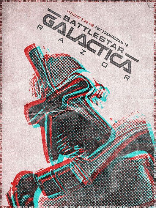Battlestar Galactica Razor Movie Poster Movie Posters