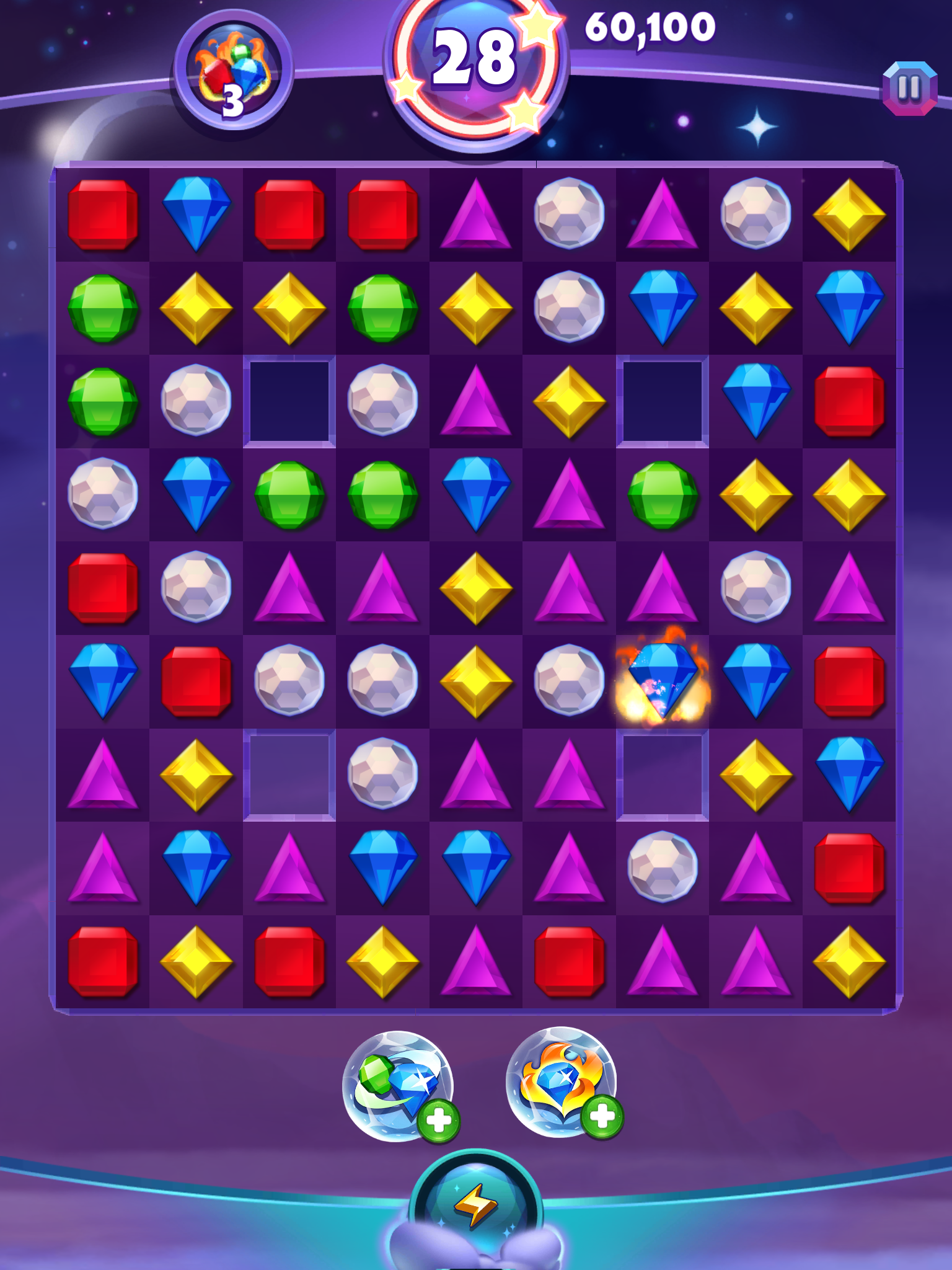 Bejeweled Stars is Puzzle Brain Games and developed by