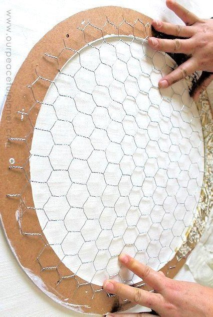 17 DIY Creative Ways to Decorate with Chicken Wire