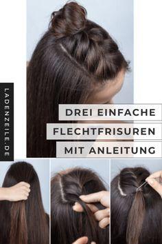 Flechtfrisuren: Anleitung zum Haare stylen | LadenZeile