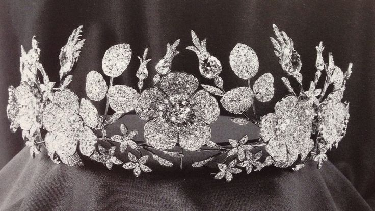 The Belle Epoque Floral Diamond Tiara Of The Duchesses Of