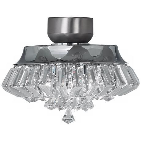 Deco crystal chrome universal ceiling fan light kit fan light deco crystal chrome universal ceiling fan light kit v5824 lampsplus aloadofball Choice Image